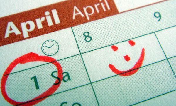 Erster April - first of April / Bild: (c) www.BilderBox.com (www.BilderBox.com)