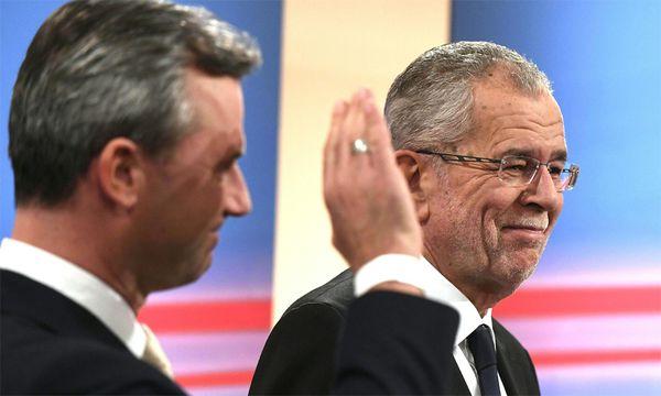 2016, Jahr des ewigen Präsidentschaftswahlkampfs. / Bild: (c) APA (Harald Schneider)