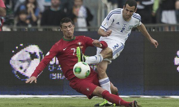 Fussball WMQualifikation Portugal rettete / Bild: (c) EPA (OLIVER WEIKEN)