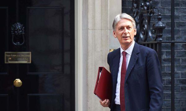 Der britische Schatzkanzler Philip Hammond. / Bild: (c) APA/AFP/NIKLAS HALLE´N