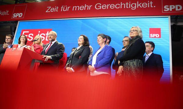 Martin Schulz muss ein niederschmetterndes Resultat zur Kenntnis nehmen. / Bild: (c) REUTERS