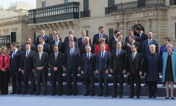MALTA-EU-SUMMIT / Bild: APA/AFP/MATTHEW MIRABELLI