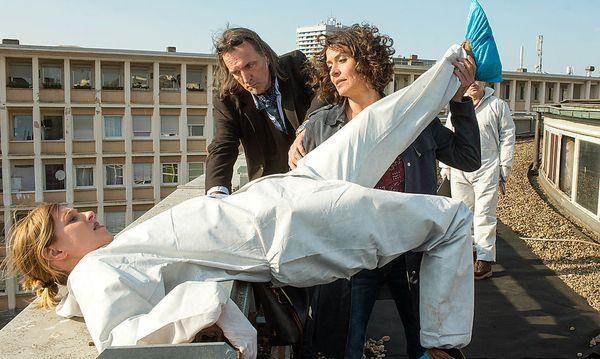 Lena Odenthal (Ulrike Folkerts) mit Johanna Stern (Lisa Bitter) und Mario Kopper (Andreas Hoppe) / Bild: ORF
