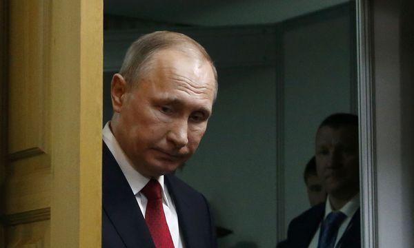 Der russische Präsident Putin / Bild: (c) REUTERS (SERGEI KARPUKHIN)