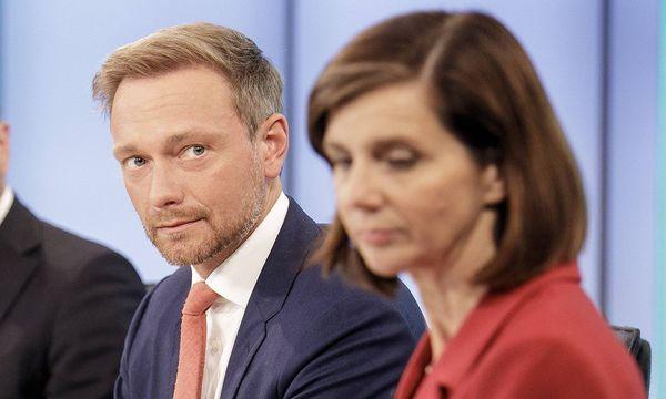 FDP-Chef Lindner und Grünen-Chefin Katrin Göring-Eckardt werden sich bald am Verhandlungstisch mit Angela Merkel wiederfinden. / Bild: imago/photothek