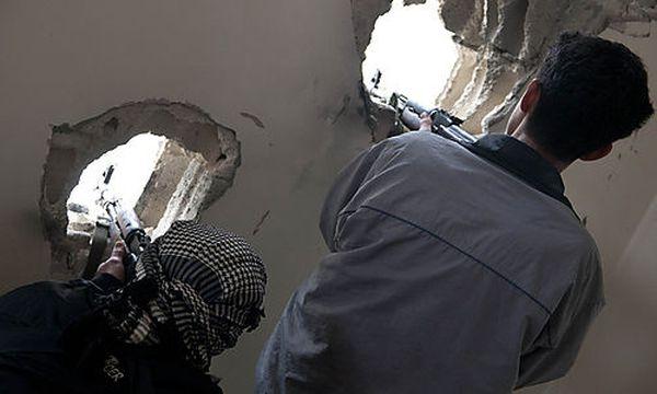 Kämpfe in Syrien / Bild: (c) AP (Str)