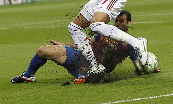 AC Milan gegen FC Barcelona / Bild: (c) AP (Luca Bruno)