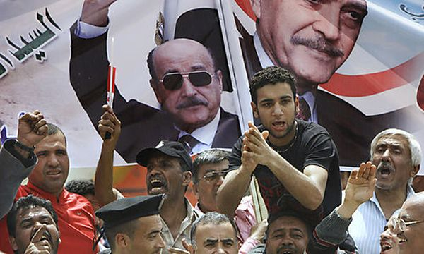 Anhänger des ehemaligen Vizepräsidenten Omar Suleiman / Bild: (c) AP (Amr Nabil)