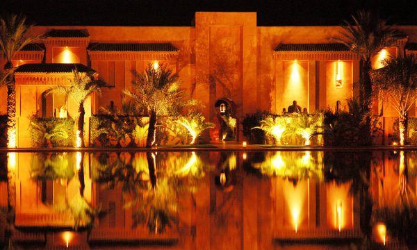 Luxuriöses Hotelresort Amanjena.