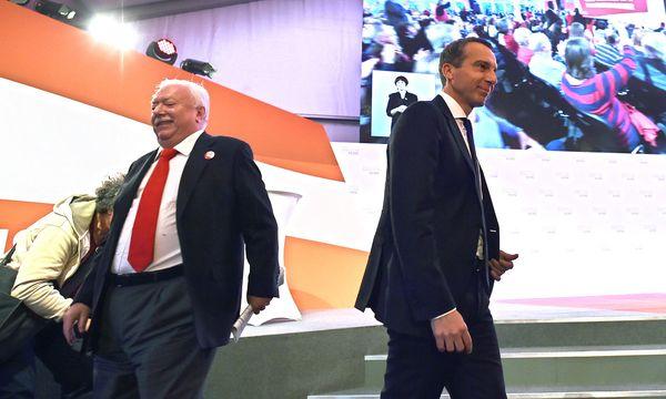 Bürgermeister Michael Häupl, Bundeskanzler Christian Kern (SPÖ) / Bild: APA/HANS PUNZ