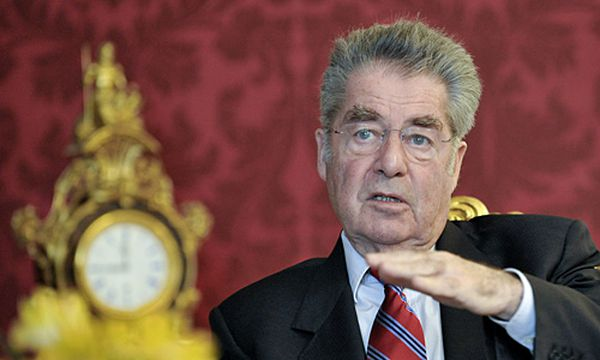 Bundespräsident Heinz Fischer / Bild: (c) APA/HERBERT NEUBAUER (HERBERT NEUBAUER)