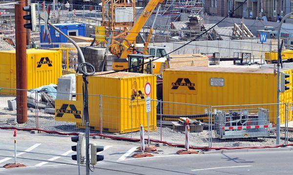 Alpine Baustellen / Bild: (c) EPA (ULI DECK)