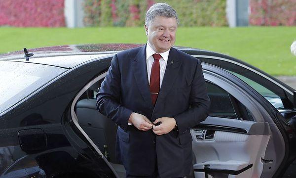 Petro Poroschenko / Bild: imago/Reiner Zensen