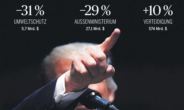 US-Präsident Donald Trump schichtet in seinem Budgetplan für das Jahr 2018 radikal um. / Bild: (c) REUTERS (CARLO ALLEGRI)