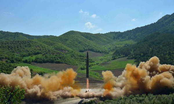 Bild: APA/AFP/KCNA VIA KNS/STR