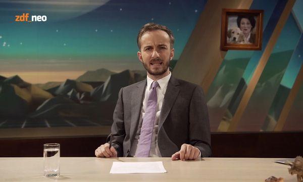 """Jan Böhmermann deckte die Arbeitsweise hinter der RTL-Sendung """"Schwiegertochter gesucht"""" auf. / Bild: (c) ZDF"""