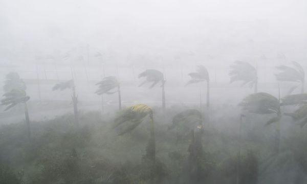 """Ein Bild von """"Irma"""" in Miami. / Bild: APA/AFP/SAUL LOEB"""