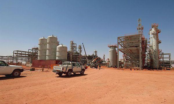 Die Gasanlage in Algerien (Archivbild) / Bild: REUTERS