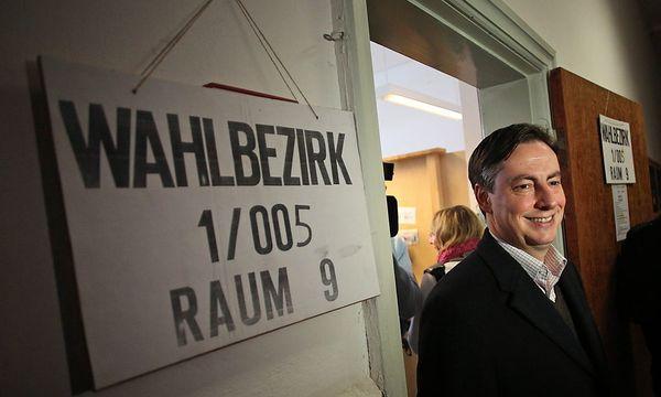 David McAllister bei der Stimmabgabe / Bild: EPA