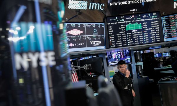 Börse in New York / Bild: APA/AFP/GETTY IMAGES/Drew Angere
