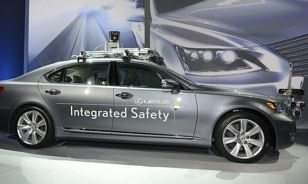 Toyota auf der CES (hier mit der Marke Lexus) / Bild: EPA