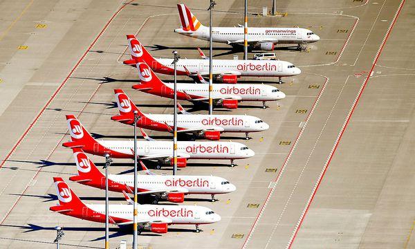 Die Angebote für die insolvente Fluglinie Air Berlin trudeln langsam ein. / Bild: APA/Ralf Hirschberger