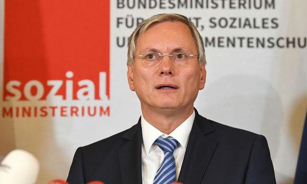 Sozialminister Alois Stöger  / Bild:  APA/HELMUT FOHRINGER