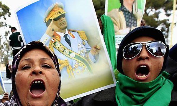 Libyen Gaddafi-Anhänger / Bild: (c) REUTERS (Zohra Bensemra)