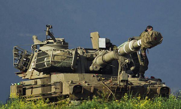 Syrien Schusswechsel israelischer Armee / Bild: (c) EPA (ATEF SAFADI)