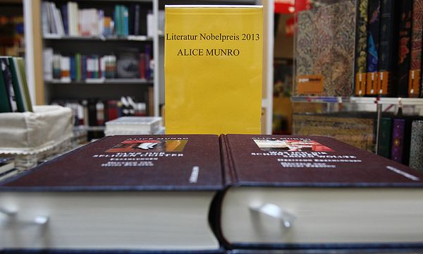 2013 ging der Nobelpreis an Alice Munro / Bild: (c) REUTERS (Heinz-Peter Bader / Reuters)