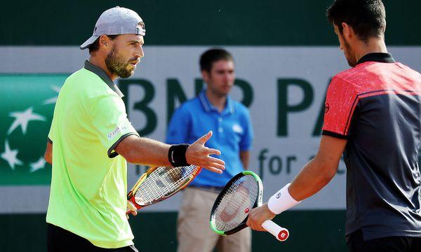 Archivbild. Oliver Marach (li.) mit Mate Pavic bei den French Open. / Bild: GEPA pictures