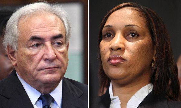 Dominique Strauss-Kahn und Nafissatou Diallo / Bild: AP