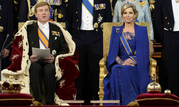 Dutch King Willem-Alexander and his wife Queen Maxima attend a religious ceremony at the Nieuwe Kerk church in Amsterdam / Bild: (c) REUTERS (POOL)
