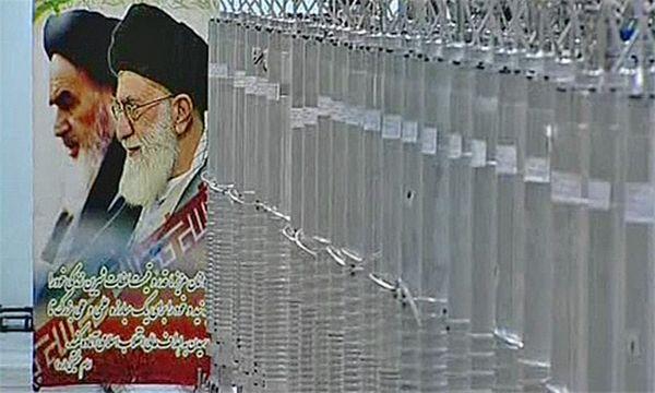 Die neu eröffnete Zentrifugenkammer / Bild: . REUTERS/IRIB Iranian TV via Reuters TV