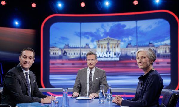 Strache, Leitner und Griss. / Bild: (c) APA/GEORG HOCHMUTH (GEORG HOCHMUTH)