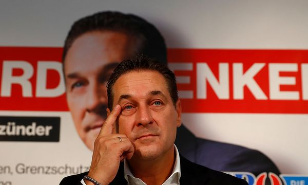 Heinz-Christian Strache / Bild: REUTERS
