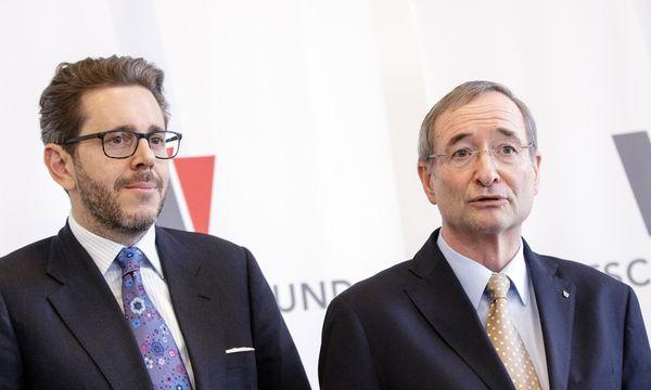 Wirtschaftskammer-Präsident Christoph Leitl mit seinen Nachfolger Harald Mahrer (l.). / Bild: (c) APA/GEORG HOCHMUTH