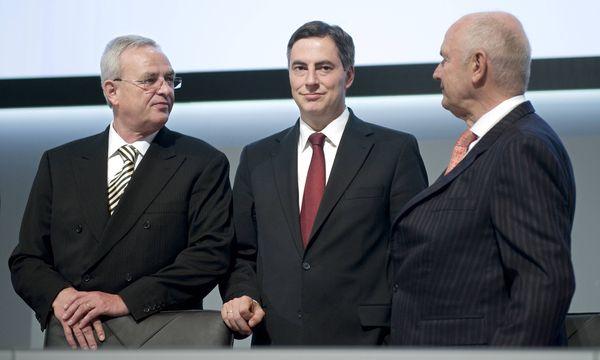 Hauptversammlung Volkswagen : McAllister, Martin Winterkorn, Piech / Bild: (c) imago/IPON (imago stock&people)