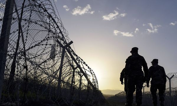 Griechisch-mazedonische Grenze / Bild: imago/EST&OST
