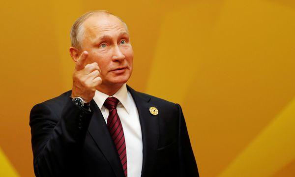 Putin müsse sich an die Regeln halten, mahnte May. / Bild: (c) REUTERS