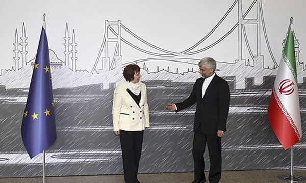 European Union Foreign Policy High representative Catherine Ashton (L) and Iran's chief negotiator Saeed Jalili (R)  / Bild: (c) EPA (Tolga Adanali / Anadolu Agency Pool)