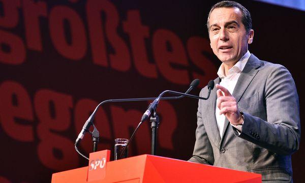 Kanzler Christian Kern (SPÖ) / Bild: APA/HANS PUNZ
