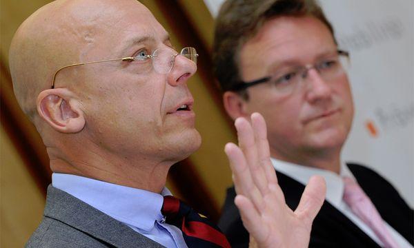 (FMA)-Vorstände Kurt Pribil (l.) und Harald Ettl  / Bild: (c) APA (Hans Klaus Techt)