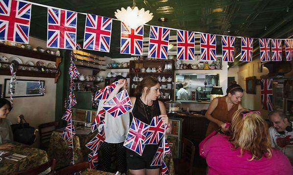 Eine Nation im Babyfieber: Die Briten geben 250 Mio. Euro für Andenken aus. / Bild: REUTERS