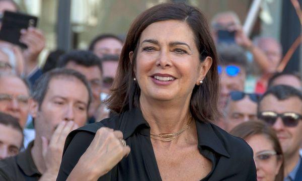 Die Präsidentin der italienischen Abgeordnetenkammer, Laura Boldrini / Bild: imago/Pacific Press Agency