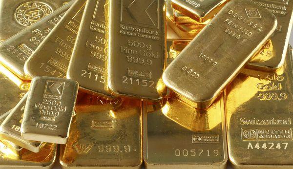 Goldbarren / Bild: (c) REUTERS (ARND WIEGMANN)