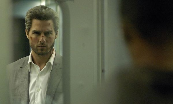 "Tom Cruise als soziopathischer Macher-Mephisto in ""Collateral"".  / Bild: Paramount"