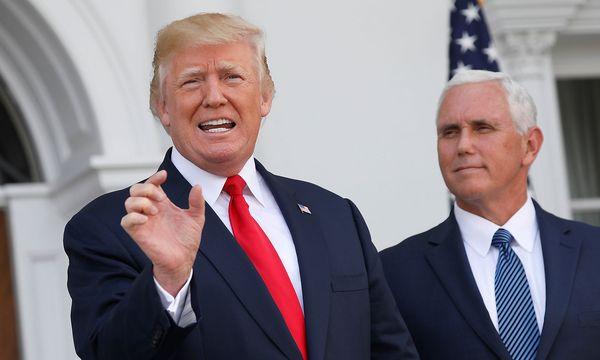 Trump, Pence / Bild: (c) REUTERS (JONATHAN ERNST)