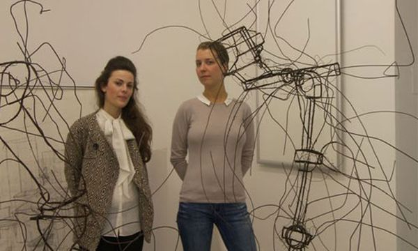 5 mal 5 Fragen an Isabella Ritter und Katharina Husslein  /