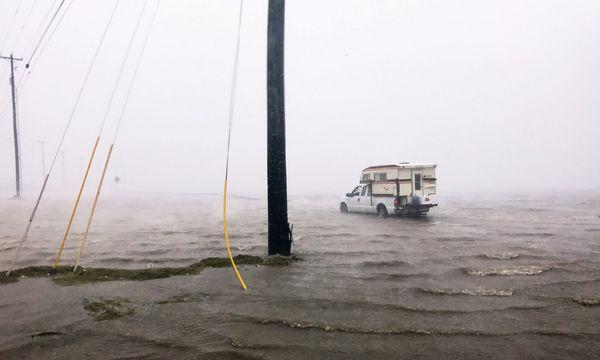 Überflutungen in der texanischen Hafenstadt Corpus Christi. / Bild: (c) Reuters